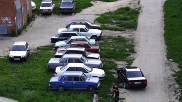 Штраф за парковку на газоне в 2019 году