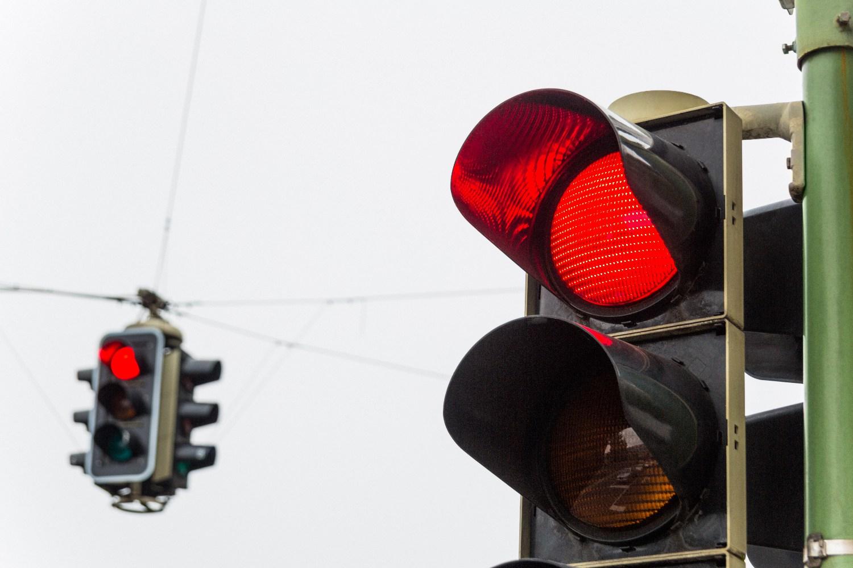 Штраф за проезд на красный свет в 2019 году