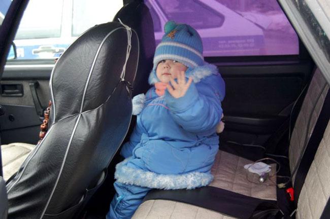 Штраф за отсутствие детского автокресла