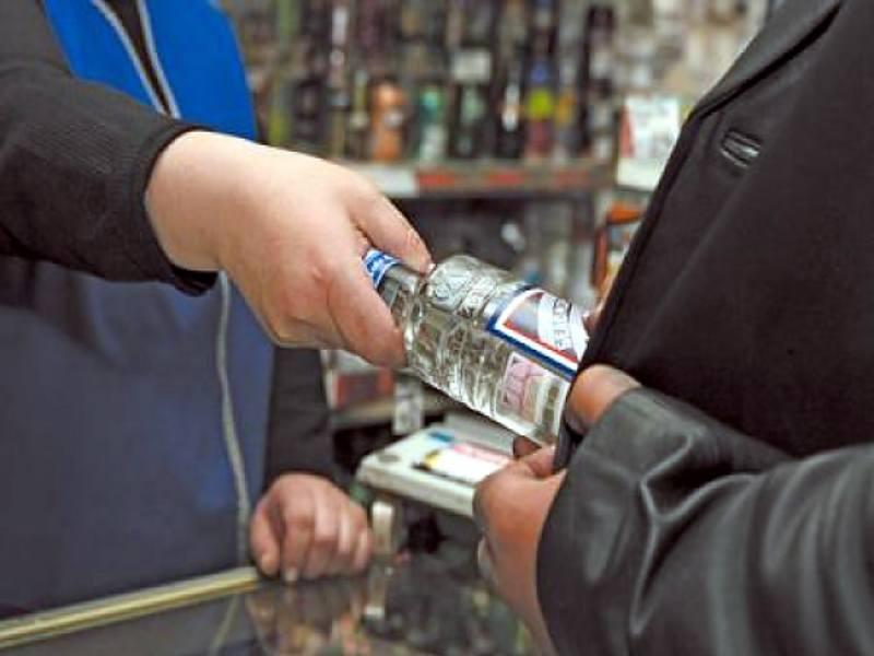 Штраф за продажу спиртного несовершеннолетним