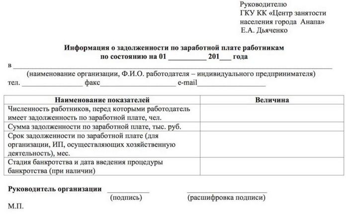 Исковое заявление о невыплате заработной платы при увольнении: образец в суд