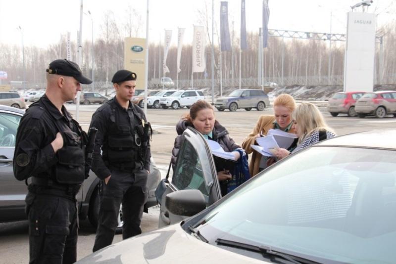 Ходатайство на арест автомобиля