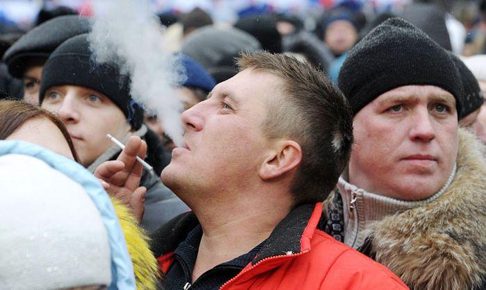 Запрещение курения в общественных местах